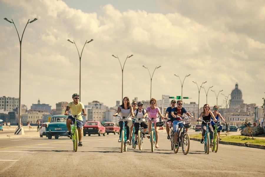 Kuba mit dem Fahrrad erkunden